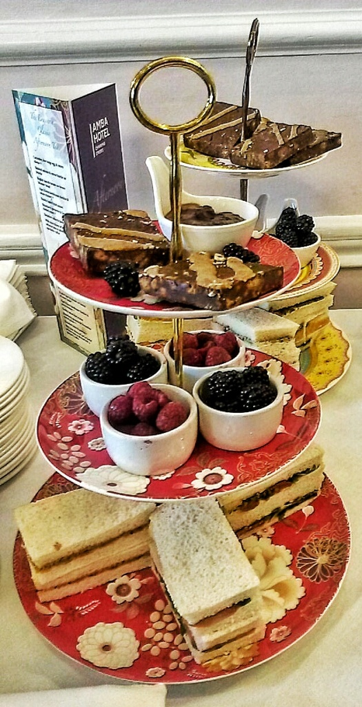 afternoon tea Amba hotel London