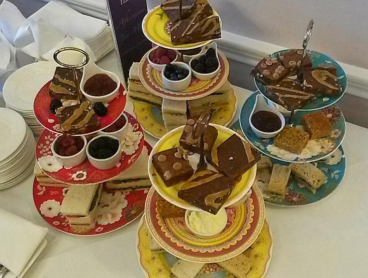 gluten dairy free afternoon tea Amba Hotel