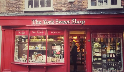 old English sweet shop York