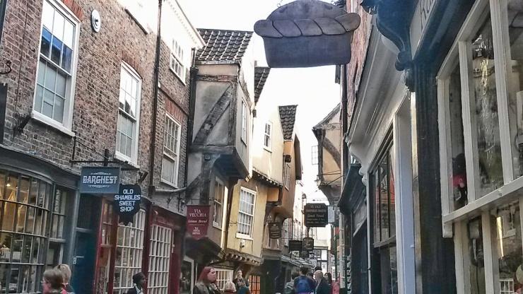 Shambles York pretty street England