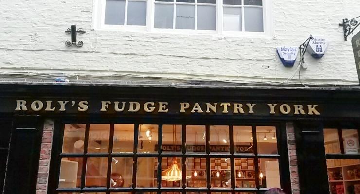 fudge shop York Roly's
