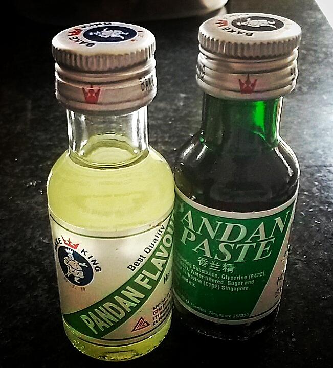pandan flavour paste