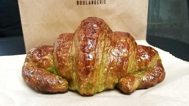 matcha croissant Moba bakery London