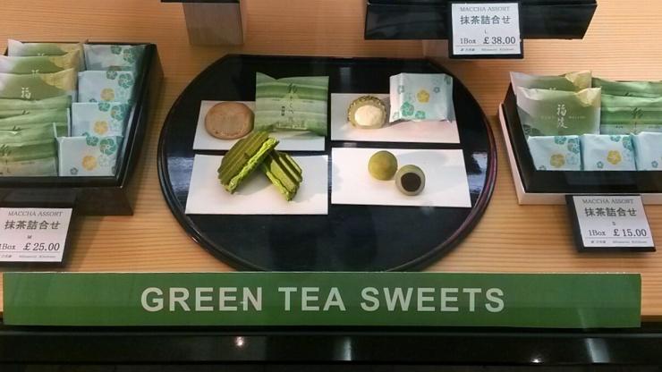Minamoto Kitchoan matcha green tea sweets London