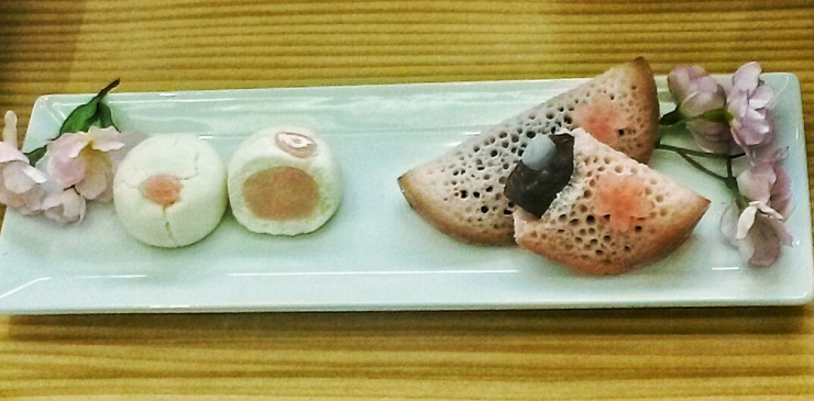 Minamoto Japanese wagashi patisserie London Green Park