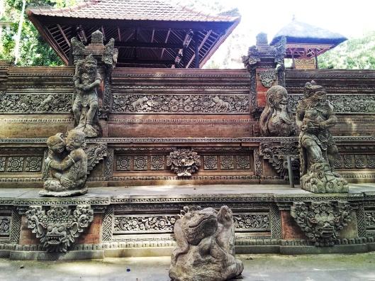 spiritual religious Sacred Monkey Forest