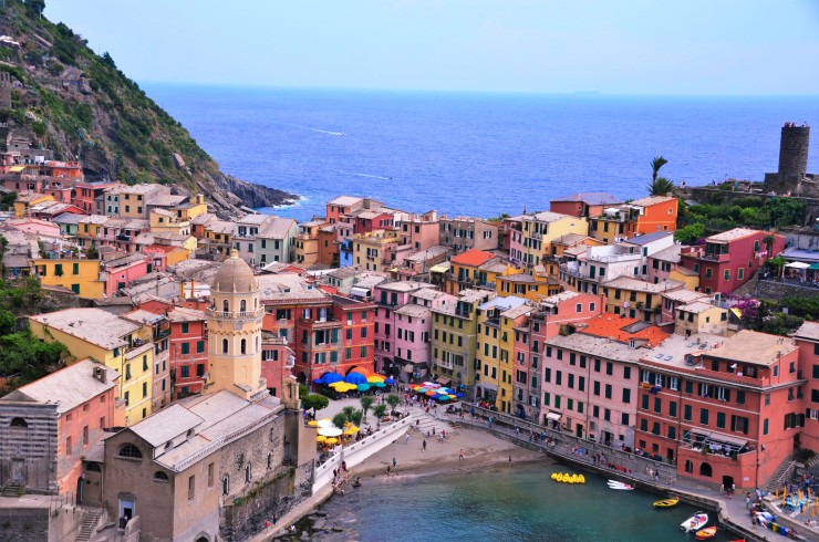 Cinque Terre hiking views