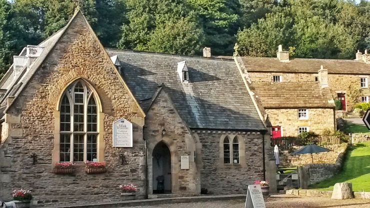 pretty villages Northumberland Blanchland church