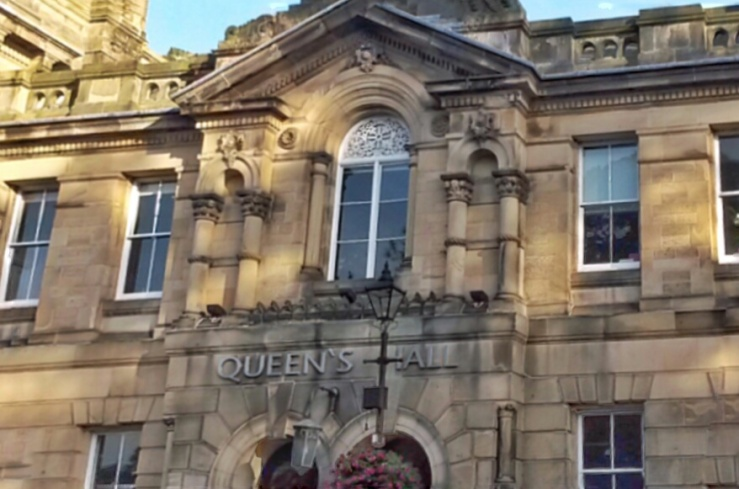 Queen's Hall arts centre theatre Northumberland