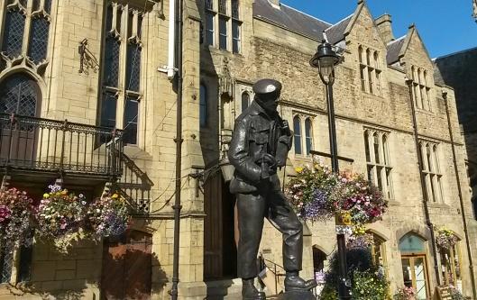 main square Durham England