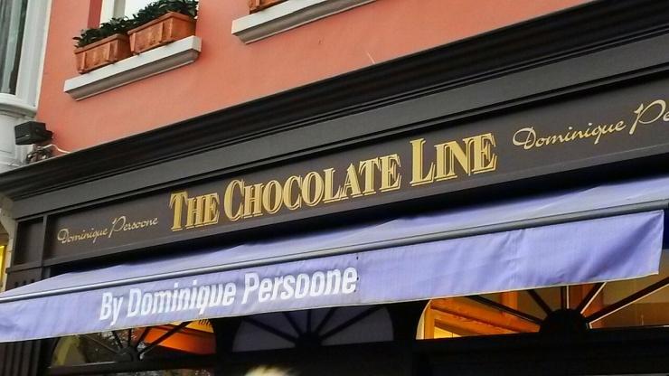 Chocolate Line shop Bruges