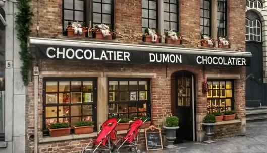 top chocolatiers Bruges Dumon