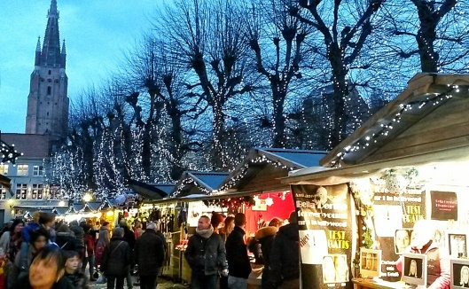 Bruges Christmas Markets travel blog