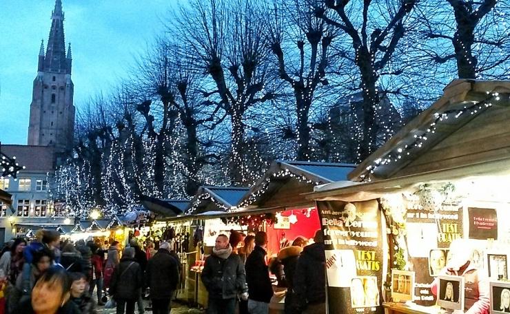 Bruges Christmas Markets travel blog