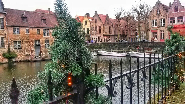 Bruges canals views