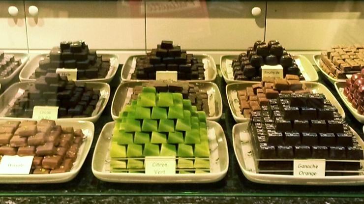 Pralinette chocolatier Bruges