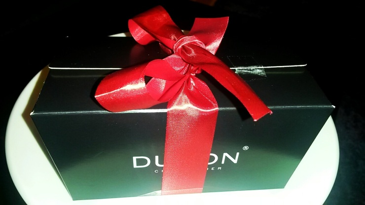 Dumon chocolate box Bruges
