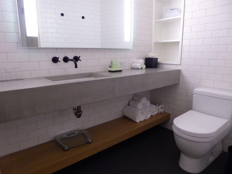 bathrooms Cassa Hotel Times Square