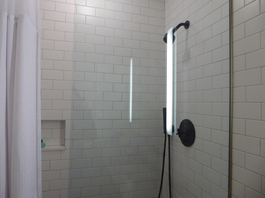 showers Cassa Hotel Times Square NYC