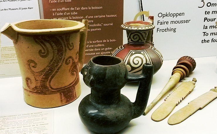 Ancient chocolate milk frothers