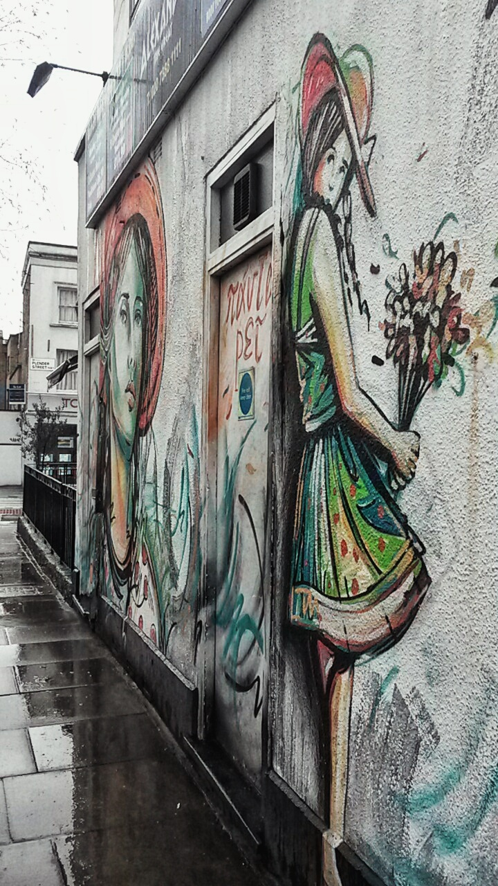 Alice Pasquini street art Camden