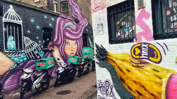 London street art scene