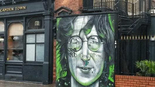 Gnasher Murals John Lennon Oxford Arms Camden