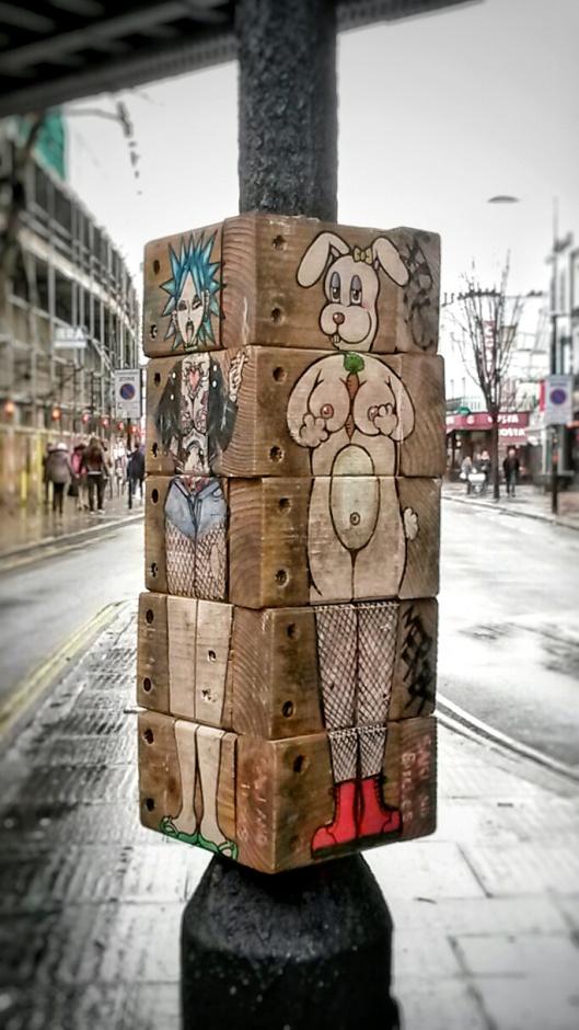interactive street art Camden