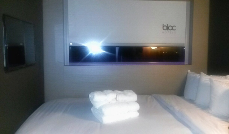 Bloc Hotel Gatwick Airport Blog Review