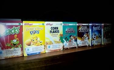 Prestige Hotel breakfast buffet cereal