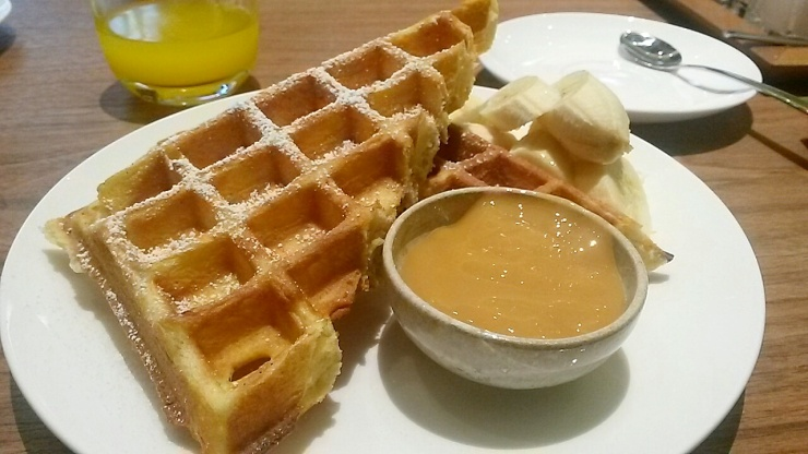 Prestige Hotel Costes Downtown breakfast menu