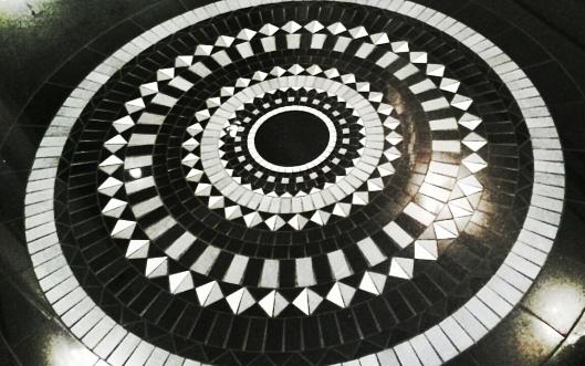 Prestige Hotel Budapest mosaic floor