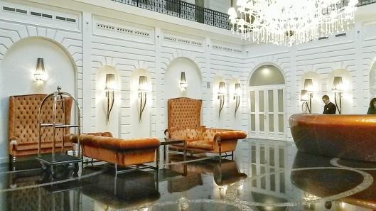 Prestige Hotel Budapest Lobby