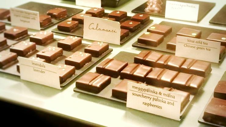 best chocolates Budapest