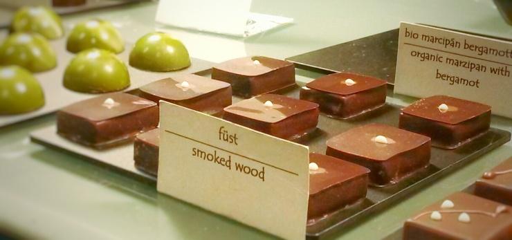 Rózsavölgyi chocolates Budapest