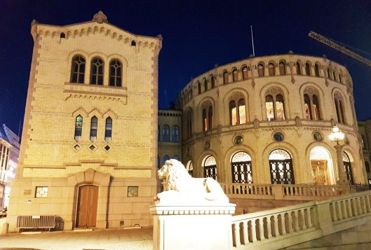 Oslo Storting Parliament Building