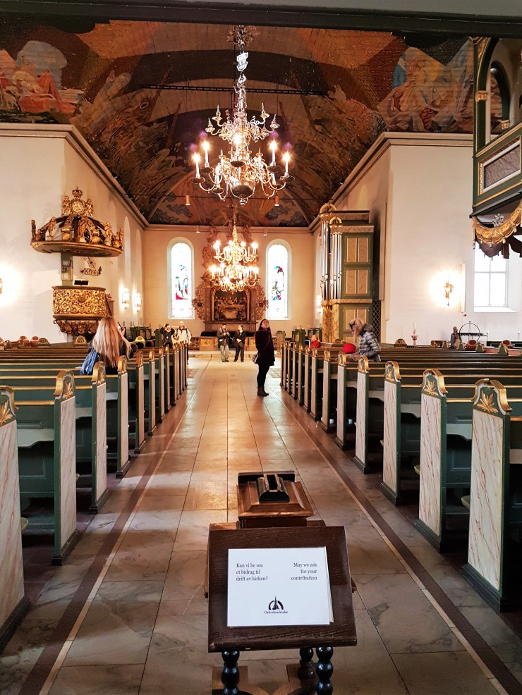 Oslo Cathedral Inside
