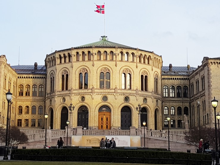 Norway Parliament Oslo best sights