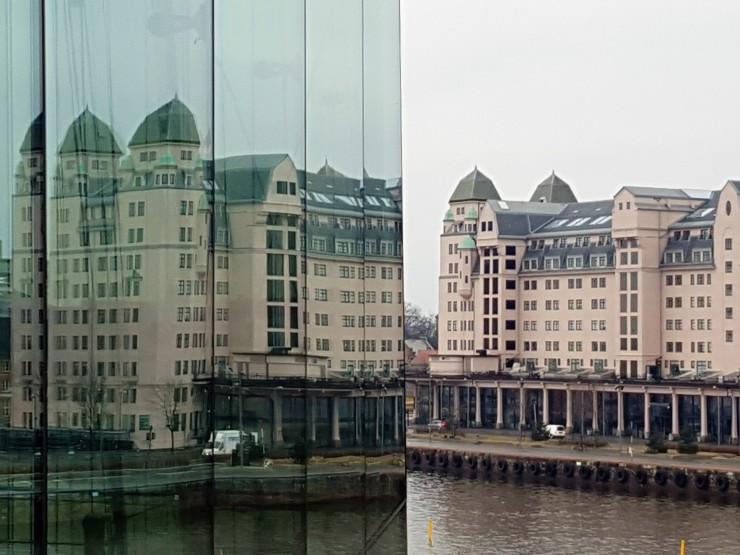 Oslo Opera House Reflections