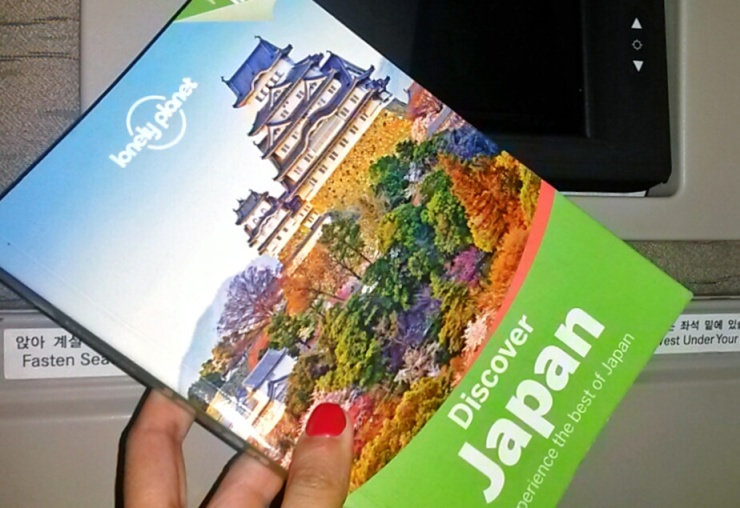 travelling Japan Lonely Planet