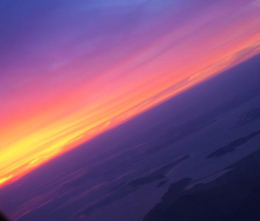 sunset Seoul