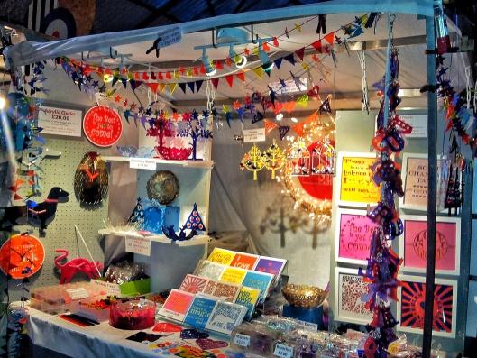 Greenwich Market stalls