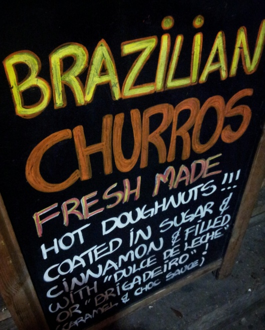 Brazilian Churros Greenwich Market London