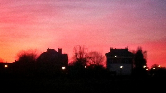 Blackheath Sunset Greenwich