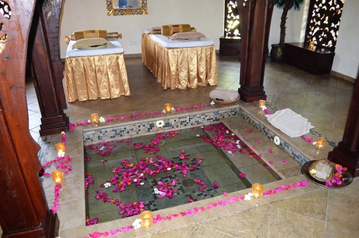 luxury romantic spa Zanzibar
