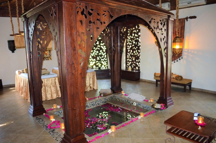 Sultan's Bath Couple's Spa Zanzibar