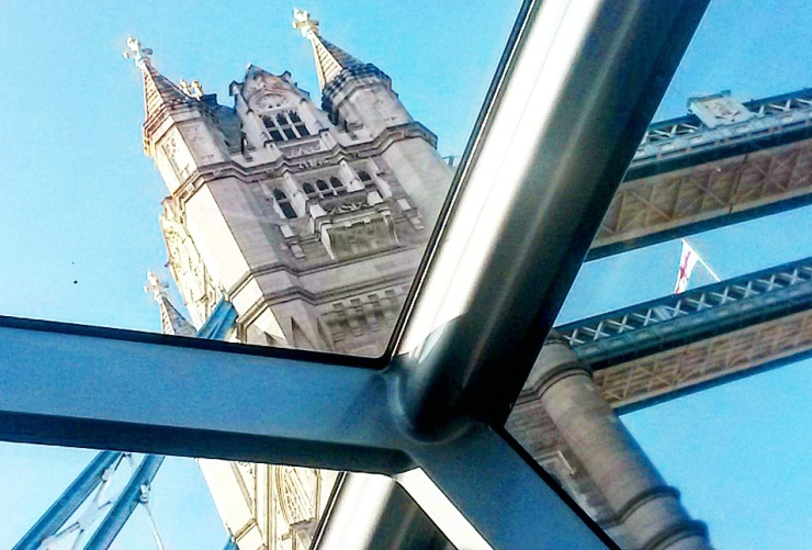 Tower Bridge view from boat