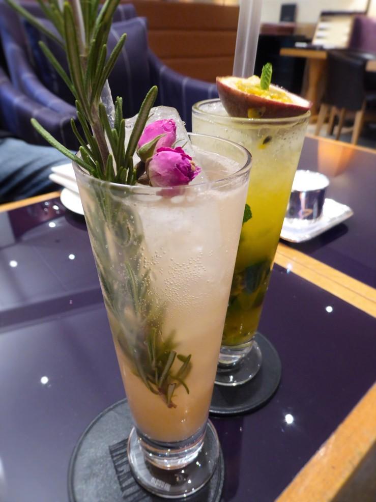 Chelsea flower show cocktails Halkin Hotel