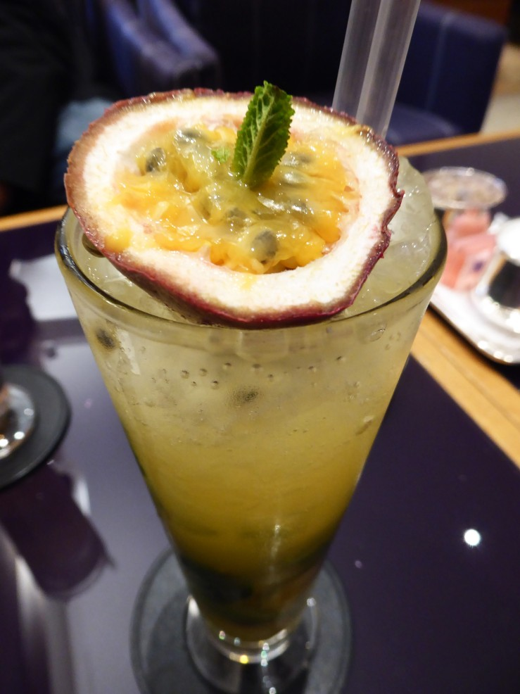 passion fruit mocktail