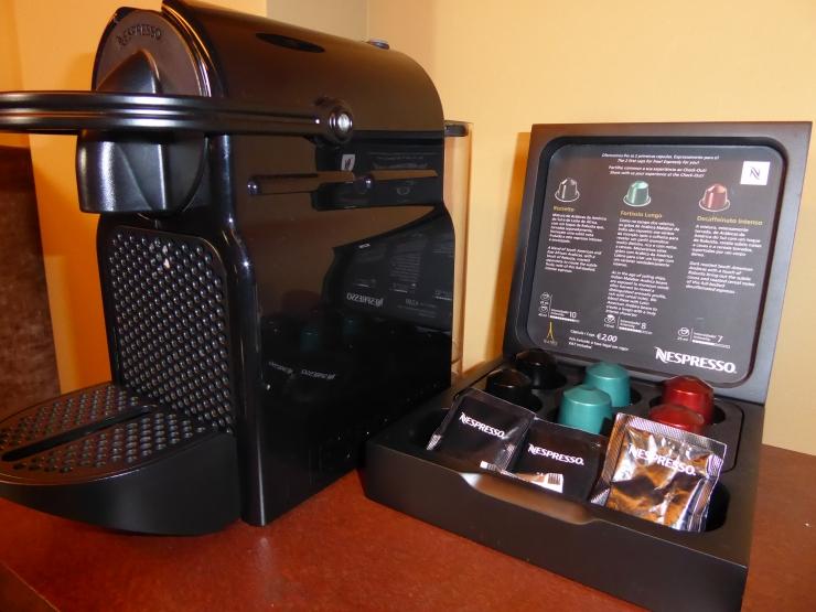 hotel with Nespresso machine Porto
